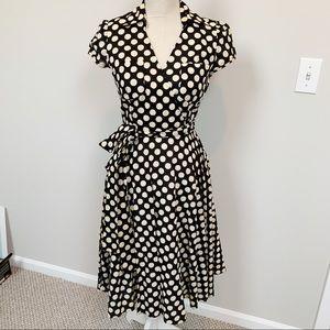 Donna Ricco Retro Fit-n-Flare Dress